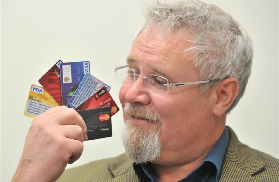 Prof Richie Poulton reflects on links between credit ratings  and heart health. Photo by Linda...