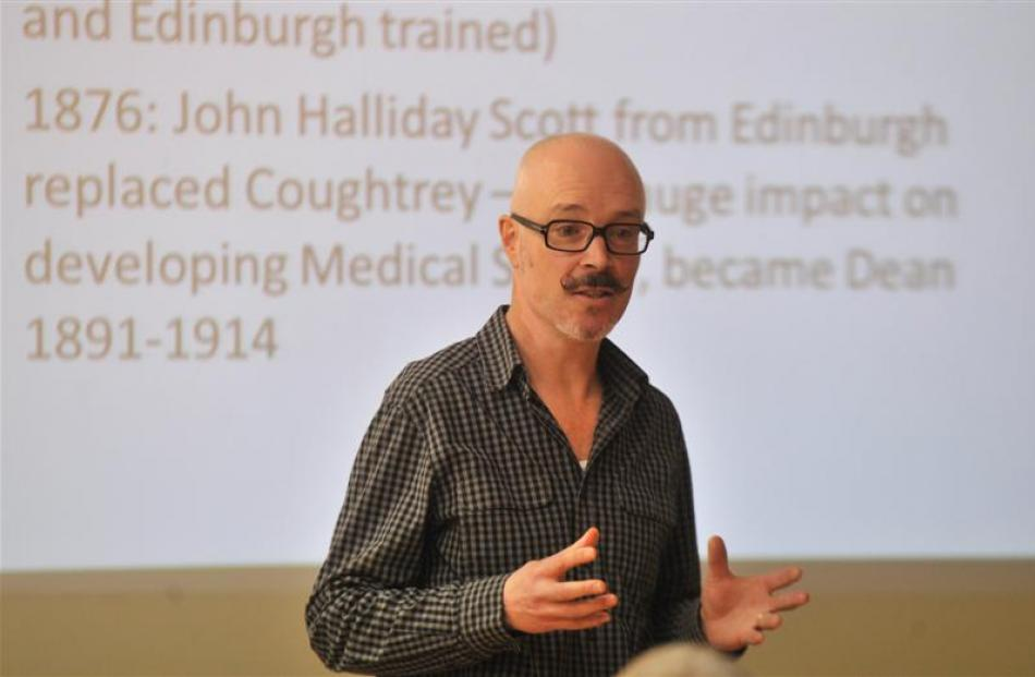 Prof Robin Gauld, director of the University of Otago Centre for Health Systems, discusses at a...