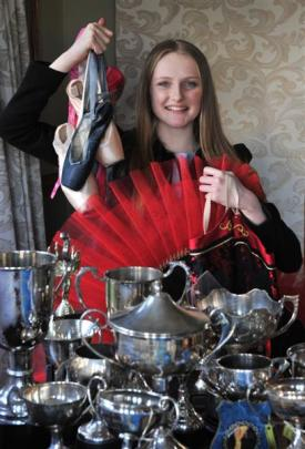 Promising young Mosgiel dancer and Taieri College year 13 pupil Rebecca Murray (17) is about to...