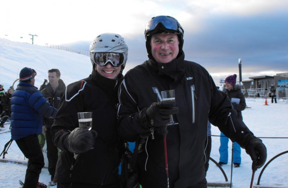 Keri and Alan Harper, of Queenstown.