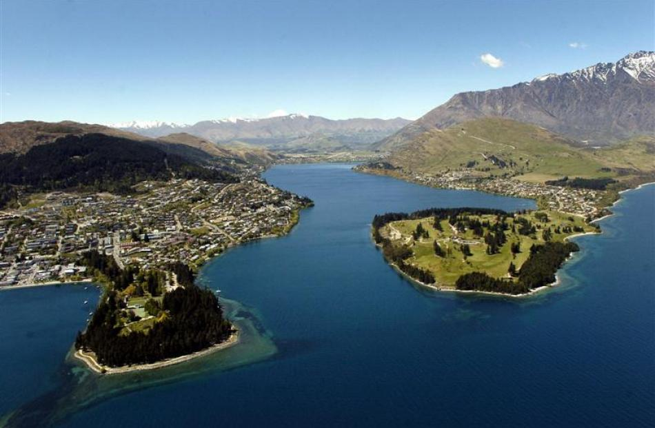 Queenstown dwelling prices continue to rise. Photo by Gerard O'Brien.