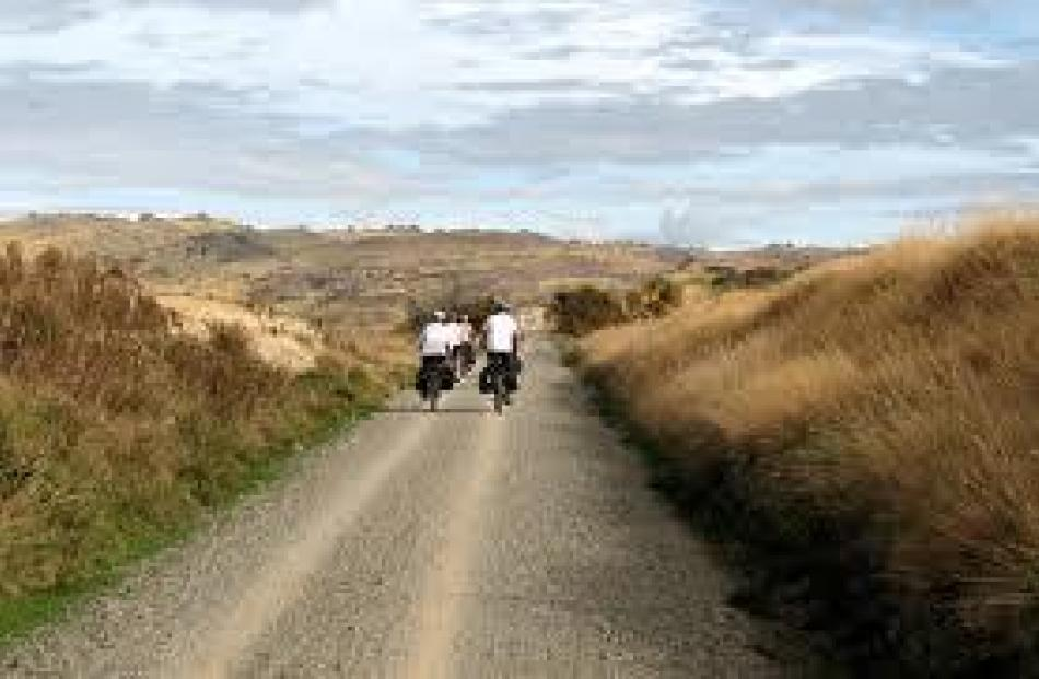 The 150km trail has some of Otago's most impressive scenery.
