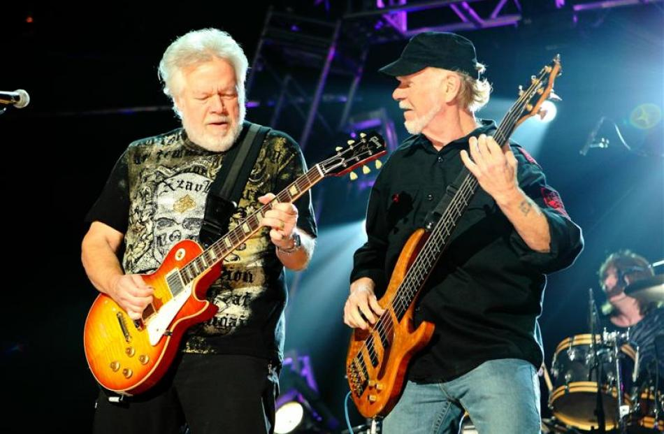 Randy Bachman (left) and Fred Turner. Photo supplied.