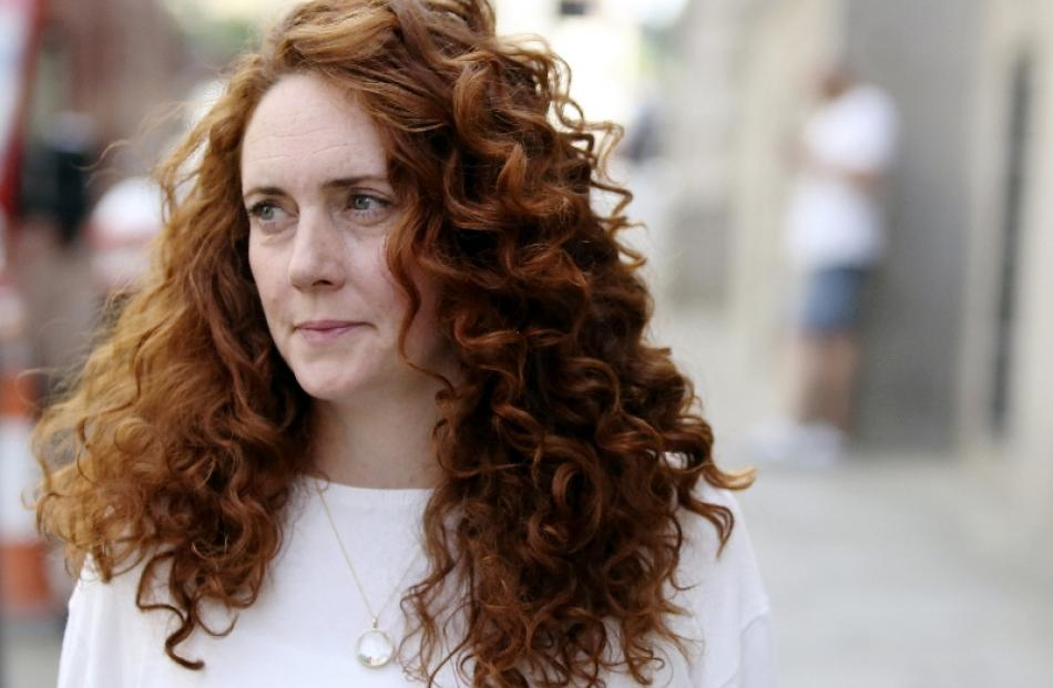 Rebekah Brooks. Photo by Reuters