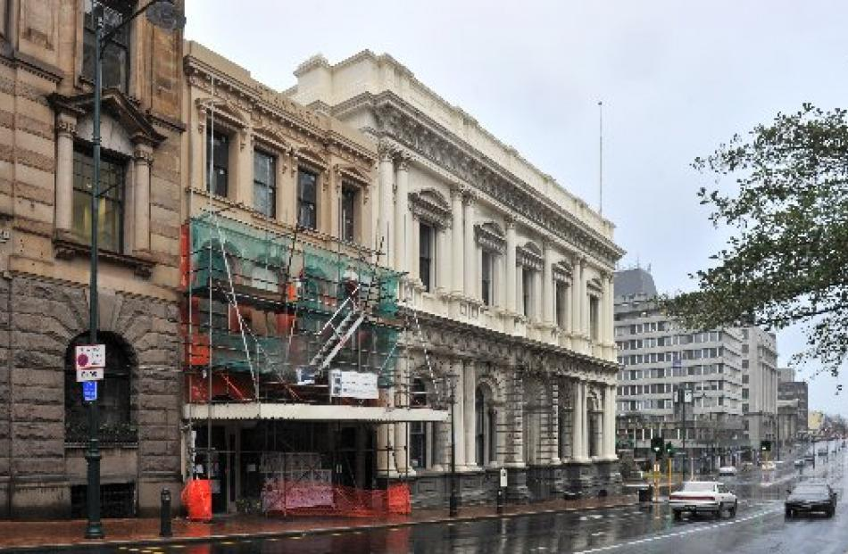 Restoration work on the old Canton Restaurant building in Princes St is almost complete. Its...