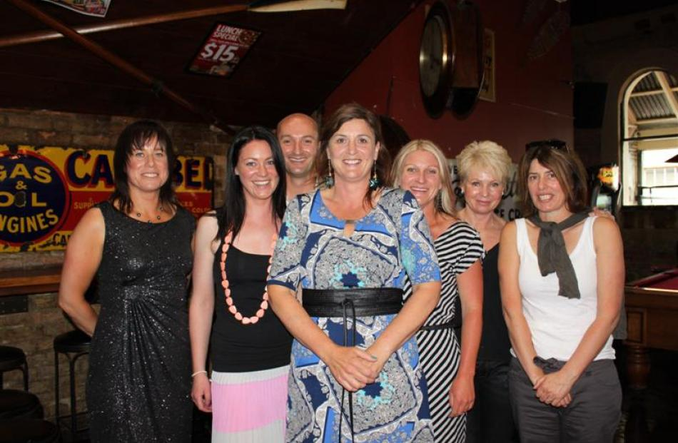 Revive 2012 overall winner Deb McLeod (front), with (from left) 'Most Improved' Mandy Dunn, ...
