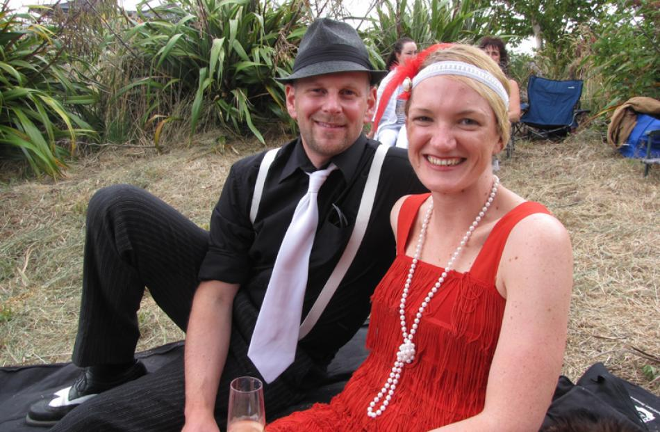 Richard Swney and Kirsten Buks, both of Invercargill.
