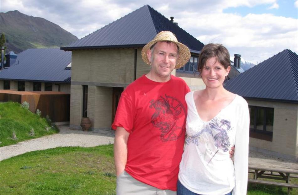 Rippon Vineyard general manager Nick Mills and his wife, Jo, the Wanaka vineyard's business and...