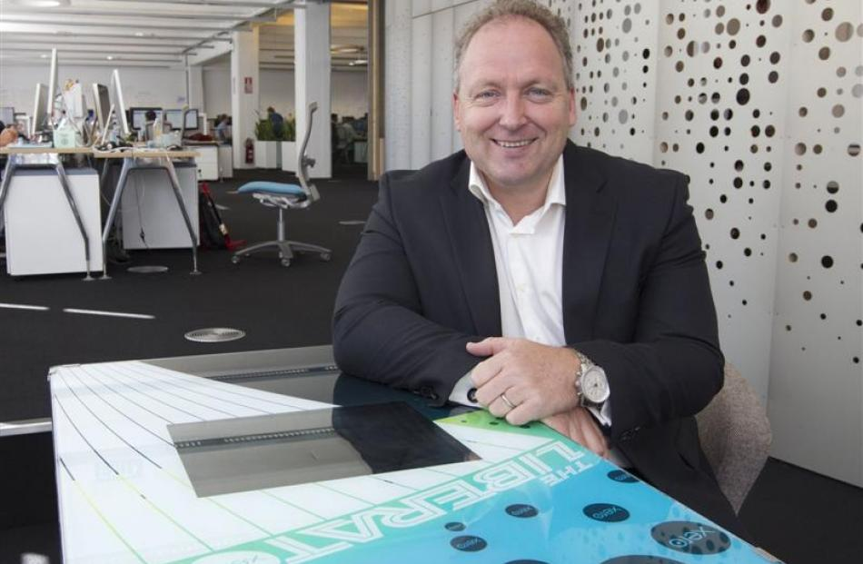 Rod Drury, founder and chief executive of internet-based accounting software company Xero....