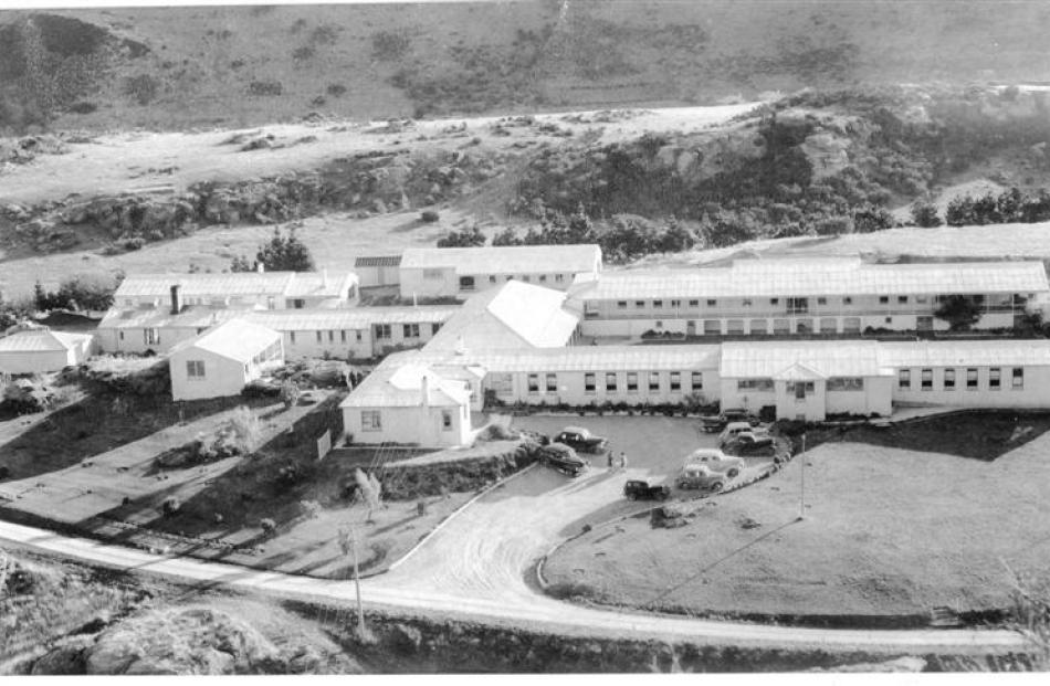 Roxburgh Health Camp in the early days. It opened in 1941.
