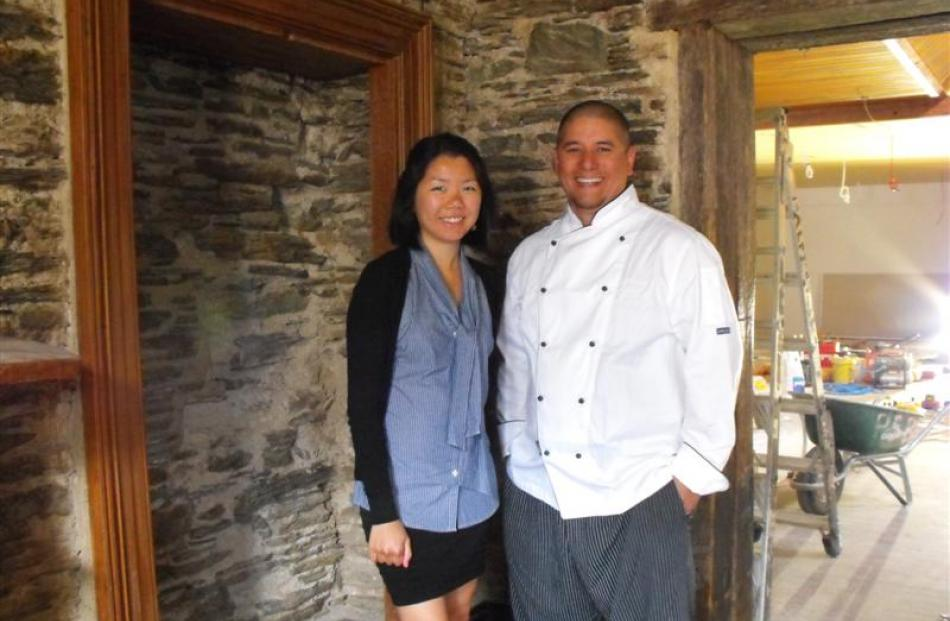 Sasso's general manager Candice Chow and executive chef Sal Grant at the restaurant  during...