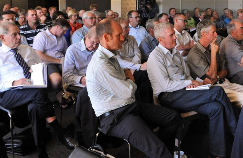 Scenes from yesterday's meeting in Gore, organised by the Southern Texel Breeders Association, to...