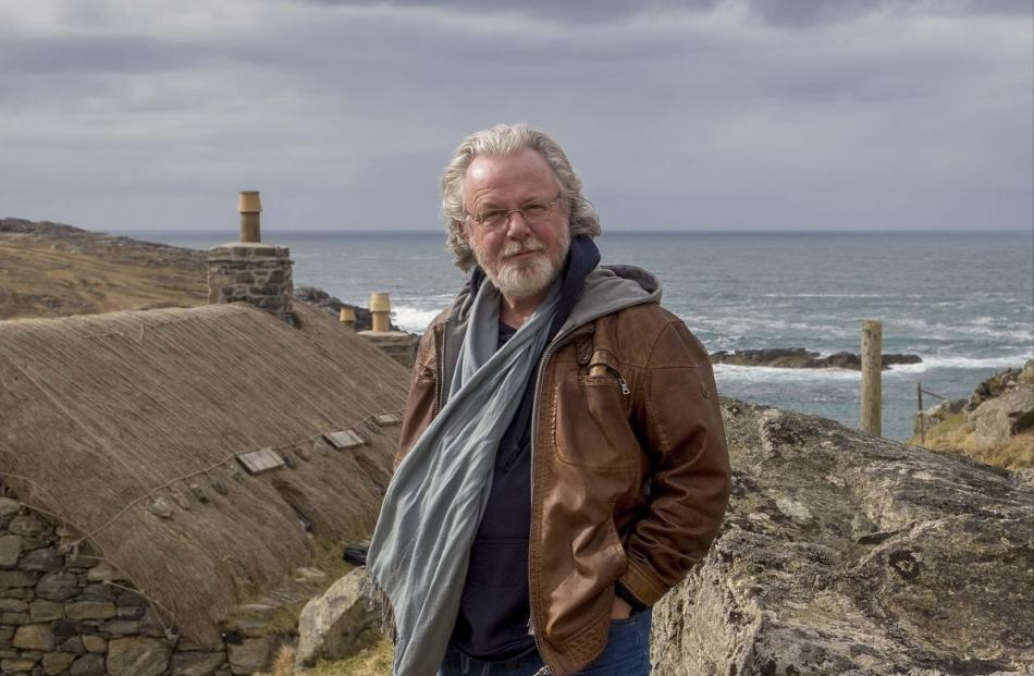 Scottish crime writer Peter May: Born into an environment rich in books. Photo: David May