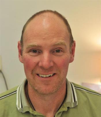 Seismologist Dr Andrew Gorman of the geology department, University of Otago.