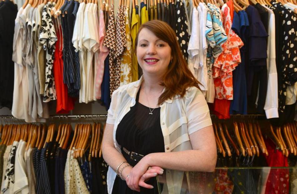 Shelley Tiplady at her Belle Bird Boutique store. Photos by Craig Baxter/Jane Dawber/Amy Parsons...