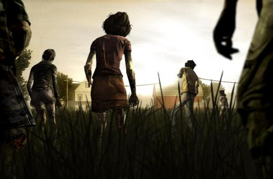Simon Bishop's game of the year: The Walking Dead.