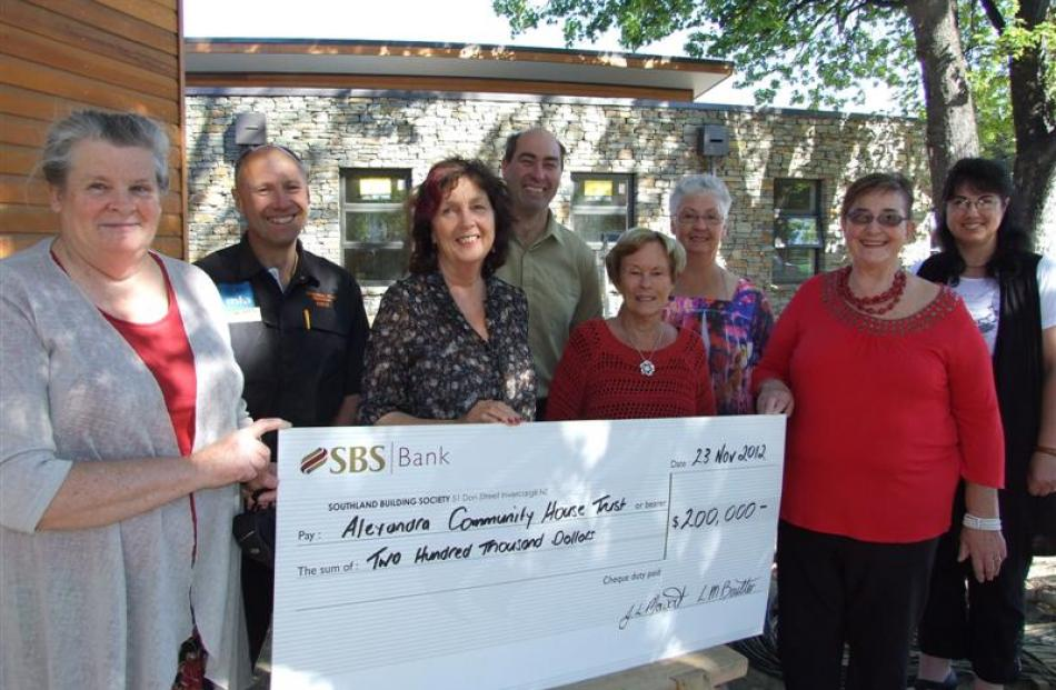 Six Alexandra-based arts and crafts groups combined to make a $200,000 donation to the Alexandra...