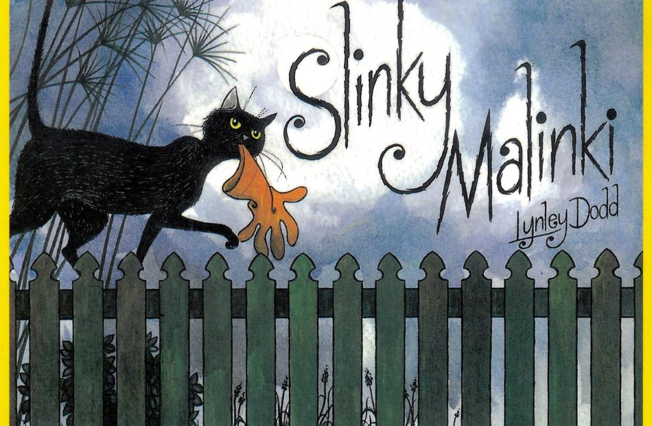 Slinky Malinki, published in 1990, was Slinky's first starring role. Author and illustrator Dame...