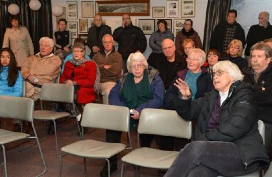 Some of the meeting's audience.