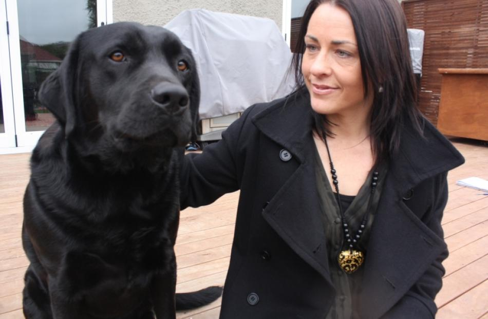 Sonia McGregor's dog Ali has recovered after being attacked by another dog at Kettle Park. Photo...