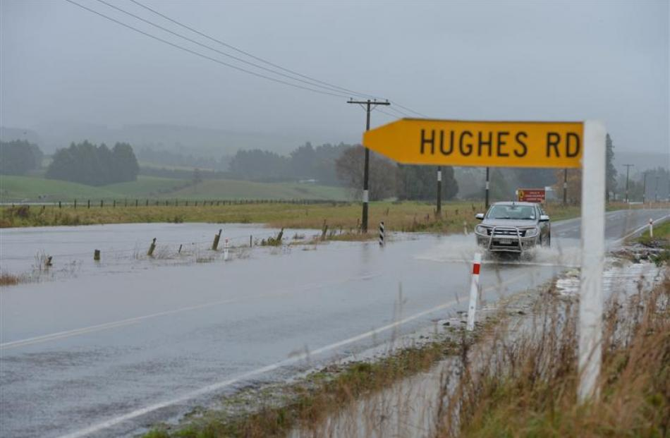 South Island flooding was part of Tower's payouts in the six months ended March. Photo by Stephen...