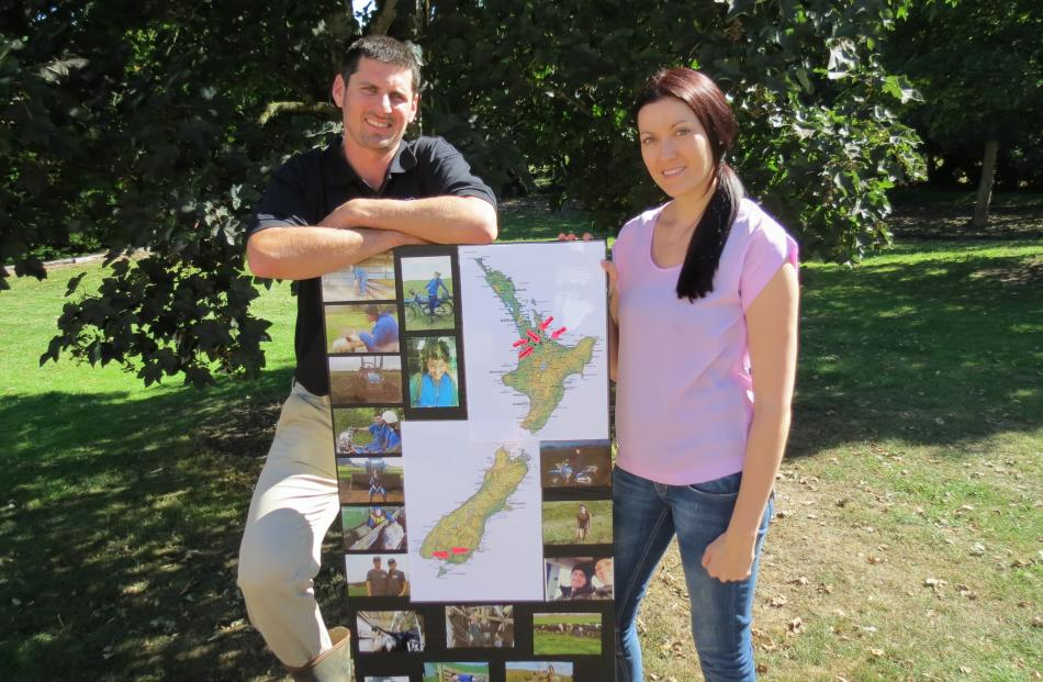 Southland Otago Farm Manager of the Year Jared Crawford and wife Sara, of Riversdale, have been...