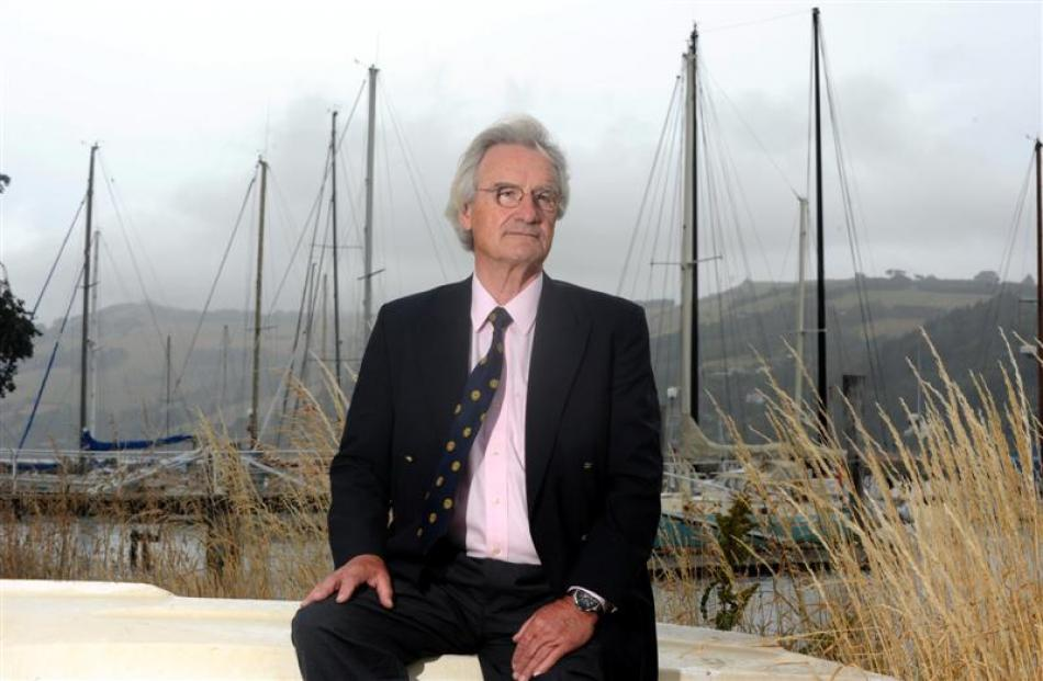 Stanley Paris hopes to sail around the world on his yacht Kiwi Spirit in another record attempt...