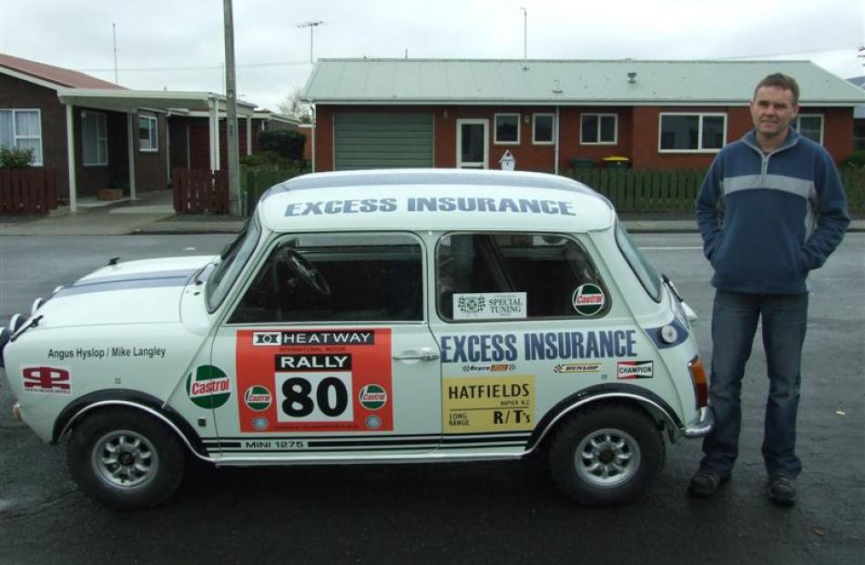Classic rally car restored | Otago Daily Times Online News