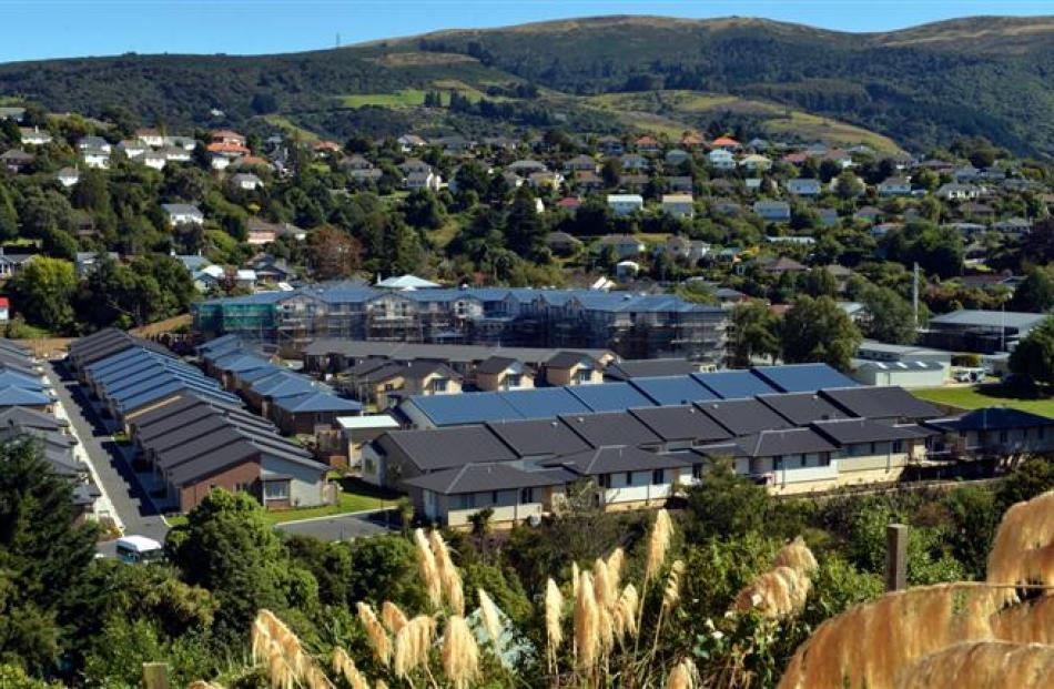 Summerset's retirement village in Dunedin. Photo by Peter McIntosh.