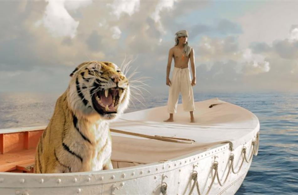 Suraj Sharma stars as the title character in Life of Pi. Photos from MCT.