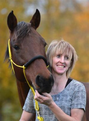 Susie Latta, of Nenthorn Valley, with her horse Tkiwa, has made the New Zealand endurance team....