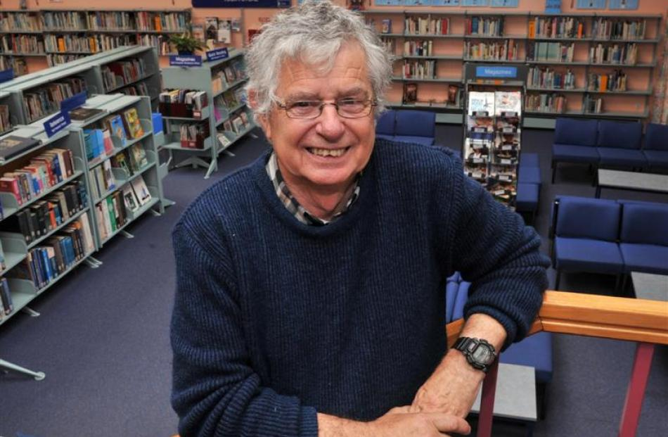 Teacher David Cook finishes on Monday after chalking up a 40-year career at Kaikorai Valley...