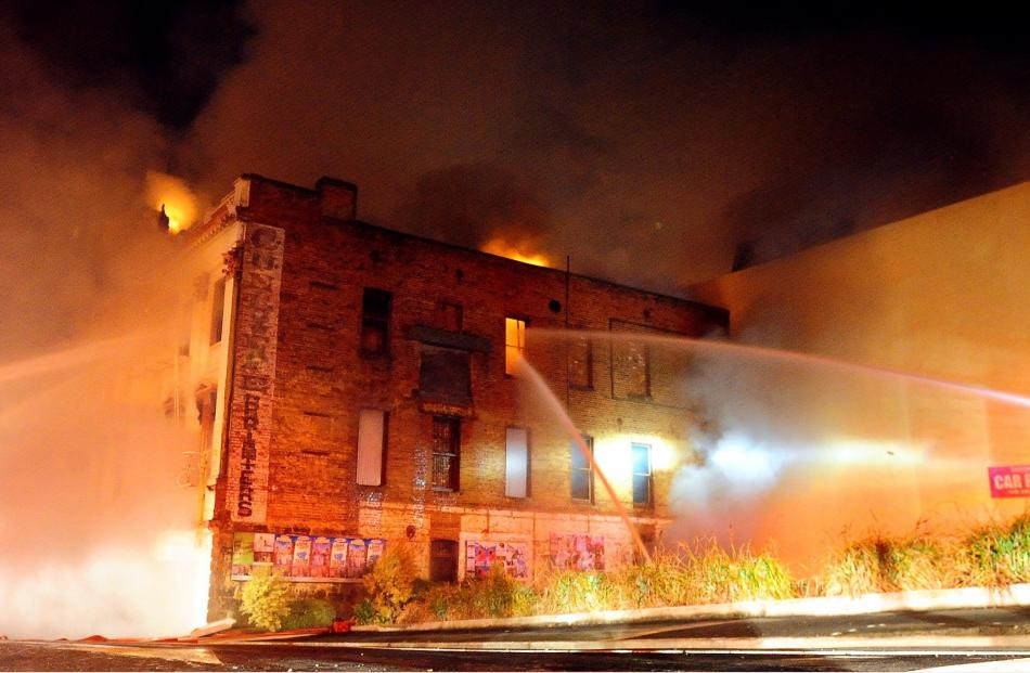The 2008 fire.