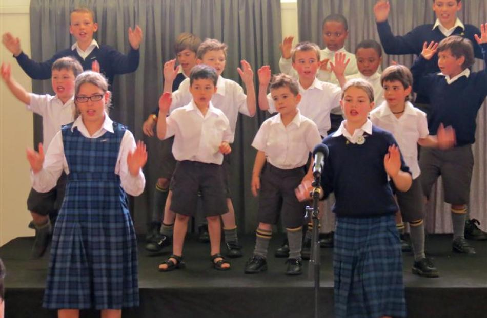 The 2012 KingsView School Celebration of Learning opened with a traditional performance by pupils...