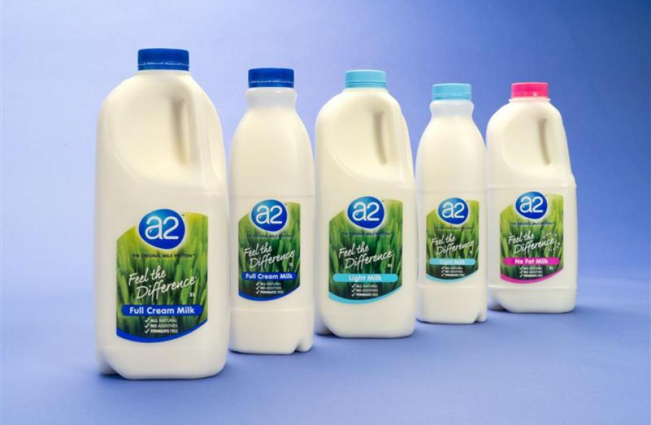 The a2 Milk Company has broad-based growth opportunities. Photo supplied.