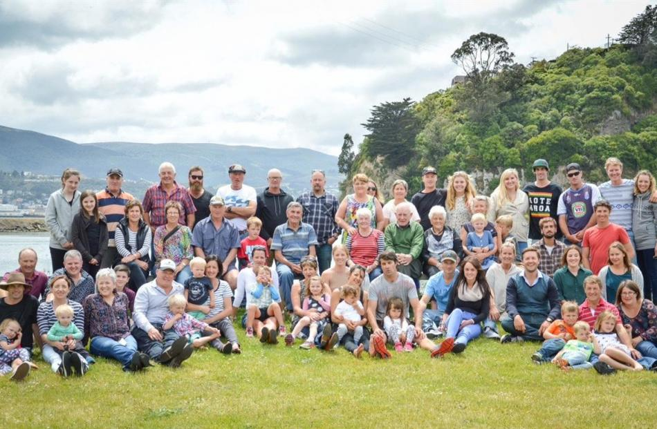 The Anderson reunion saw 65 members reunited at Andersons Bay on December 16 after 10 years....