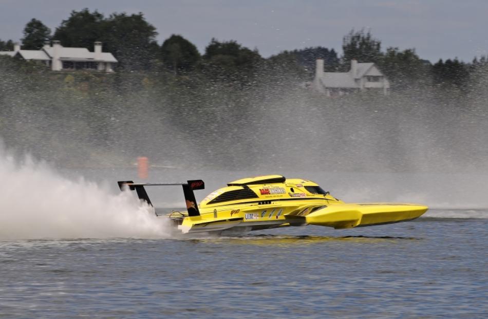 The Annihilator, driven by Warwick Lupton, from Waverley, Taranaki, will be racing on Lake...
