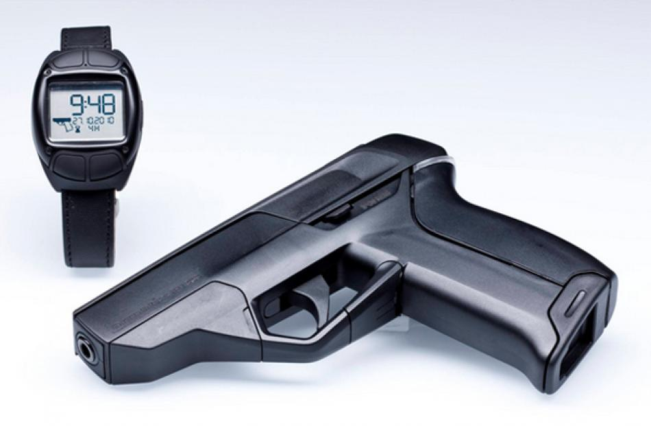 The Armatix iP1 .22-caliber handgun