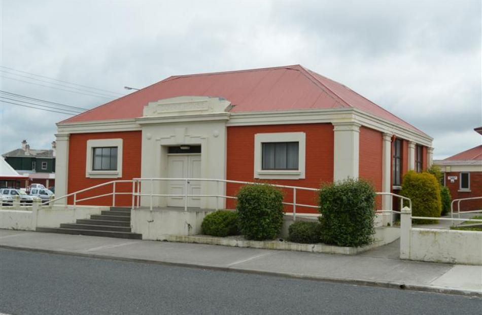 The Balclutha courthouse, built about 1925.