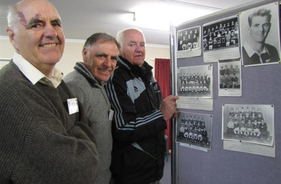 Ritchie, Tony and Don Clark reminisce about their years playing for the Cromwell Rugby Club.