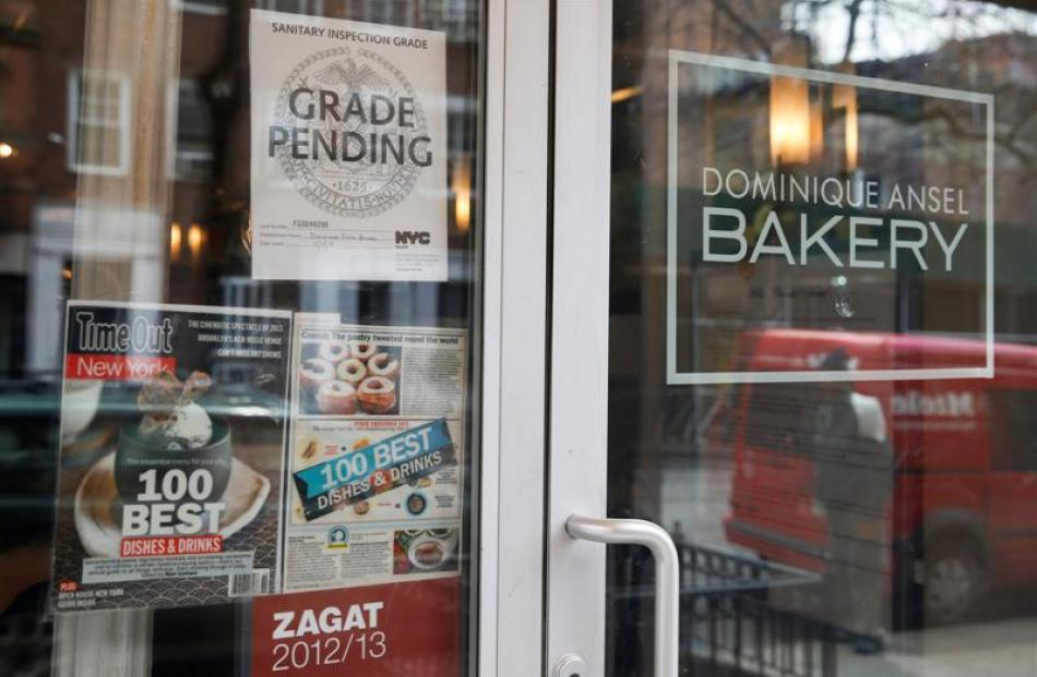 The Dominique Ansel Bakery is open again after temporarily being shut down by the New York...