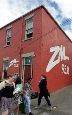 The Dunedin City Council has sent a letter to the owner of this Castle St flat asking them to...