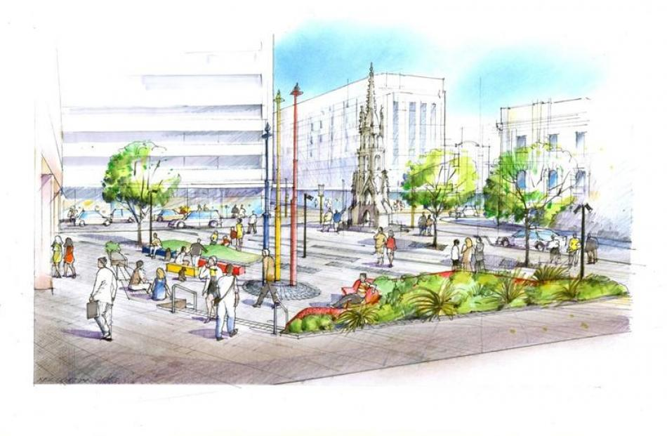 The Dunedin City Council is considering accelerating work on a $602,000 redevelopment of the...
