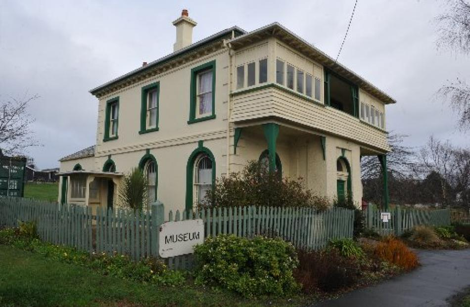 The former Bank of New Zealand at Waikouaiti looks much as it did when the doors opened in 1869....