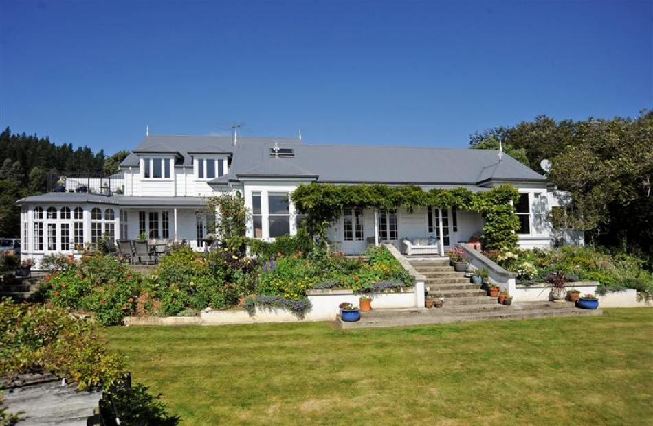 The former Speight family holiday home in Broad Bay, Dunedin. Photo supplied.