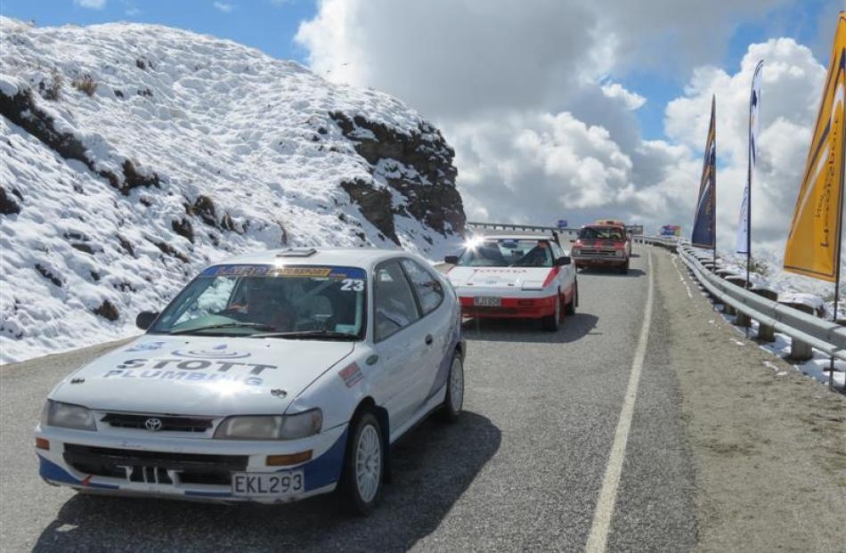 The Fuchs Coronet Peak Hill Climb, near Queenstown, on Saturday attracted 48 competitors and...