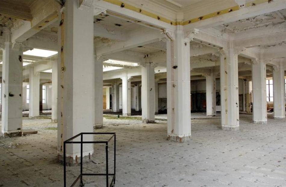 The ground floor interior. All photos Gerard O'Brien/ODT files.