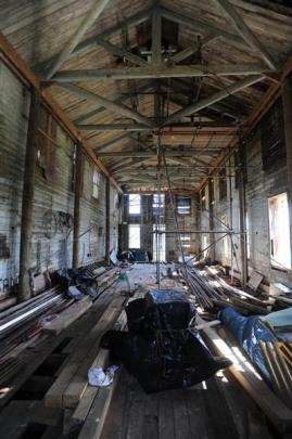 The historic accommodation block on Quarantine Island in Otago Harbour is being restored. The...