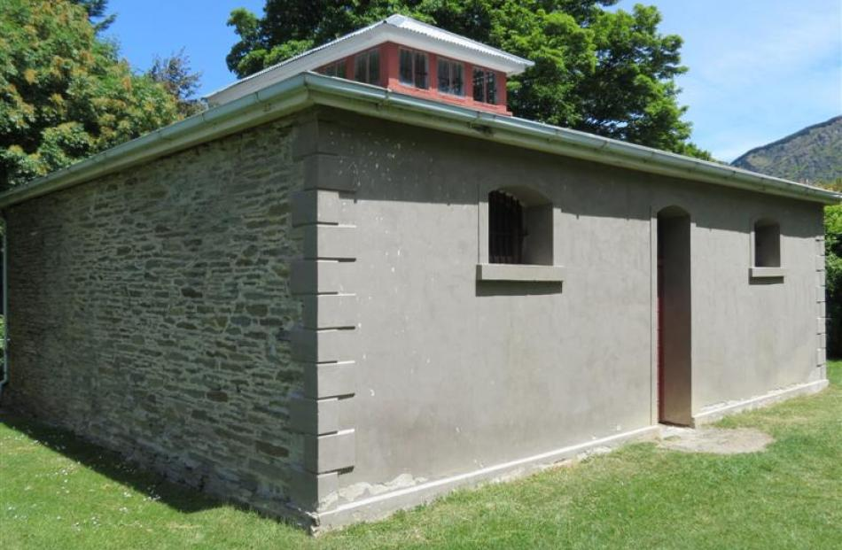 The historic Arrowtown jail has benefited from heritage funding from the Queenstown Lakes...