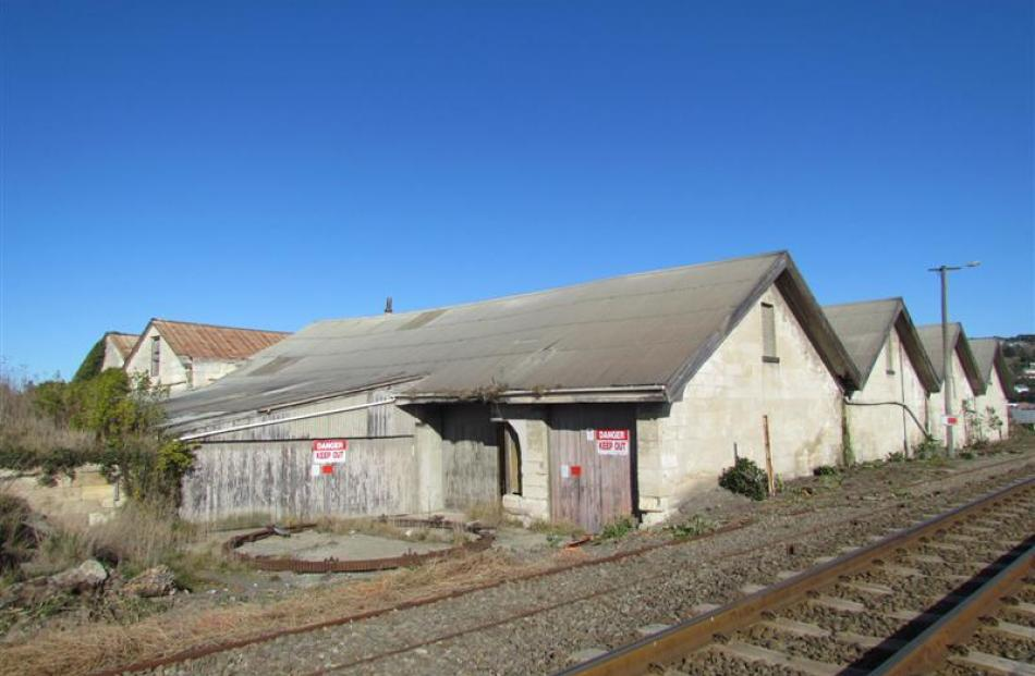 The historic freezer building on the Oamaru foreshore has been declared a dangerous building by...